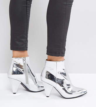 Missguided Cone Heel Ankle Boot