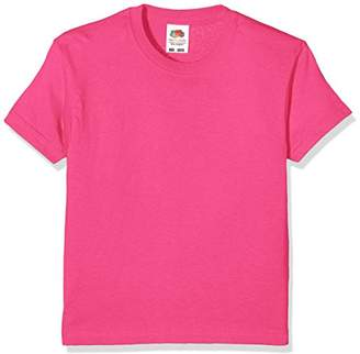 Fruit of the Loom Unisex Kids Original T. T-Shirt,10-11 Years (Manufacturer Size:32)