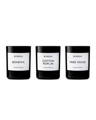 Byredo La S&233lection Bois 3 x 70 g Mini Candle Set