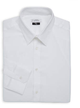 Versace Solid Dress Shirt