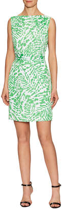 Susana Monaco Amaryllis Printed Sheath Dress