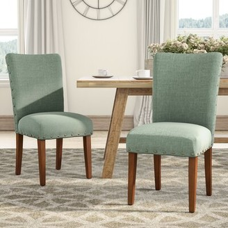 Laurèl Foundry Modern Farmhouse Lincolnshire Upholstered Dining Chair Foundry Modern Farmhouse