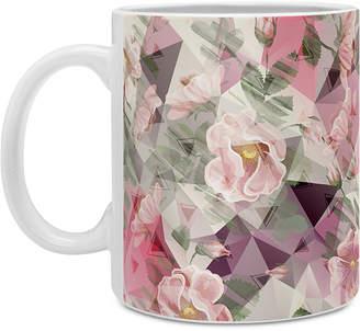 Deny Designs Marta Barragan Camarasa Geometric Shapes and Flowers Coffee Mug