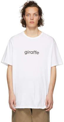 Nonnative White Giraffe T-Shirt