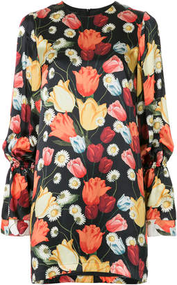 Mother of Pearl tulip-print shift dress