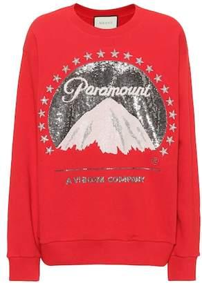 Gucci Paramount Logo oversized sweatshirt
