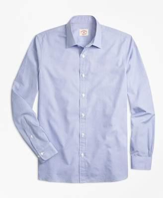 Brooks Brothers Nine-to-Nine Dobby-Stripe Shirt