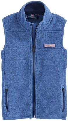 Vineyard Vines Kids Sweater Fleece Vest