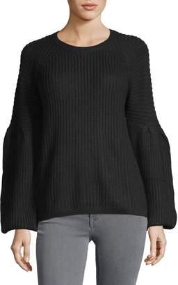 Lord & Taylor Long-Sleeve Blouson Sweater