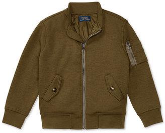 Ralph Lauren Military-Inspired Bomber Jacket, Toddler & Little Boys (2T-7) $95 thestylecure.com