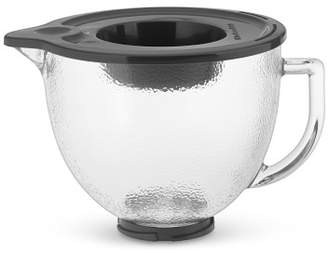KitchenAid 5-Qt. Hammered Glass Bowl with Lid