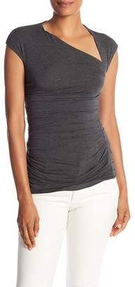 Bailey 44 Asymmetrical Neck Cutout Top