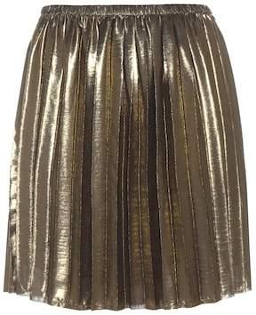 Etoile Isabel Marant Isabel Marant, Étoile Manda metallic pleated skirt