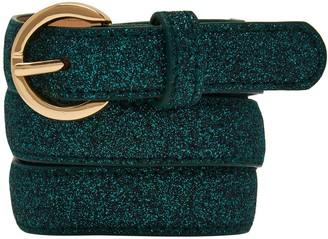 Nooki Design Metallic Belt Emerald