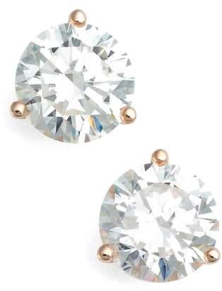 Nordstrom 4ct tw Cubic Zirconia Earrings