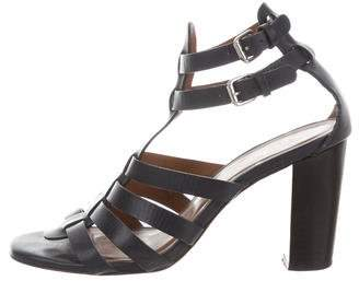 Steven Alan Caged Leather Sandals