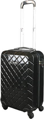 Jettblack Black Check Carry On Suitcase