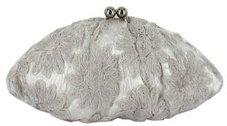 Menbur 'White Flower' Clutch - White $88 thestylecure.com
