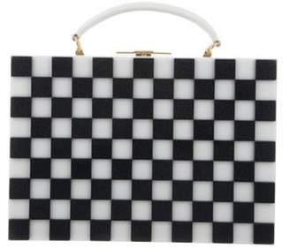 Thom Browne 2017 Checker Briefcase White 2017 Checker Briefcase