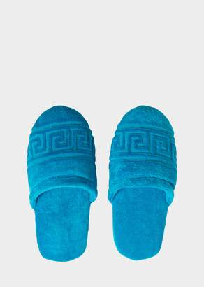 Versace Greca Key Slippers