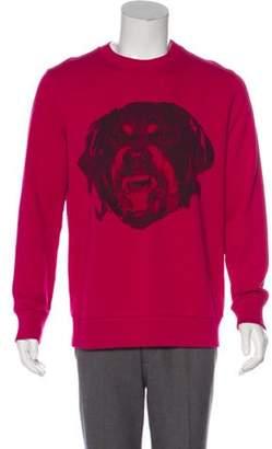 Givenchy Rottweiler Graphic Sweatshirt multicolor Rottweiler Graphic Sweatshirt