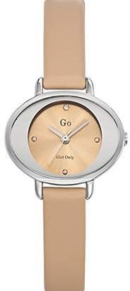 Go GB 698923 – Ladies Watch – Analogue Quartz – Beige Dial Beige Leather Strap