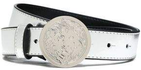 Versace Metallic Leather Belt