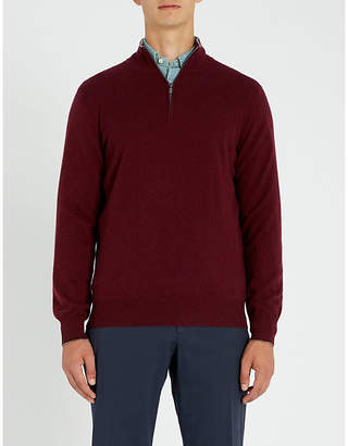Brunello Cucinelli Zip-detail cashmere jumper