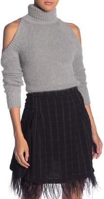 Endless Rose Cold Shoulder Knit Sweater