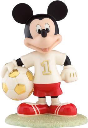 Lenox Soccer Star Mickey Figurine