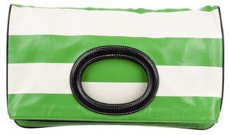 Kate Spade Kate Spade New York Striped Fold-Over Clutch