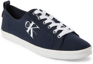 Calvin Klein Navy Monna Logo Low-Top Sneakers