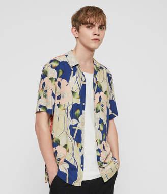 AllSaints Fuyugi Hawaiian Shirt