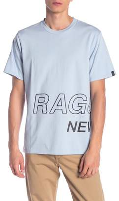 Rag & Bone Wrap Around Graphic T-Shirt