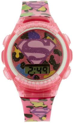 JCPenney DC COMICS Supergirl Kids Digital Watch