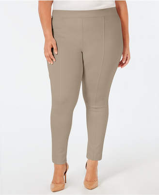 Style&Co. Style & Co Plus Size Seamed Ponte Leggings