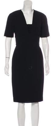 Burberry Wool Midi Dress