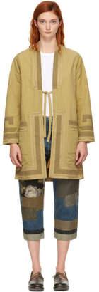 Visvim Beige Ruunpe Coat