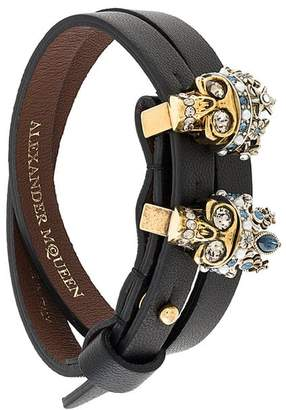 Alexander McQueen Queen and King bracelet