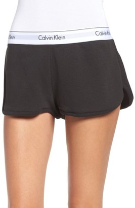 Women's Calvin Klein Lounge Shorts $40 thestylecure.com