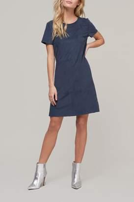 ABS by Allen Schwartz Suede Shortslv Dress