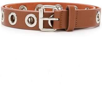 B-Low the Belt eyelet details belt