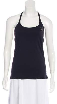 Lucas Hugh Mesh-Accented Athletic Top w/ Tags