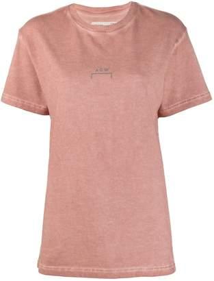 A-Cold-Wall* logo print crew neck T-shirt