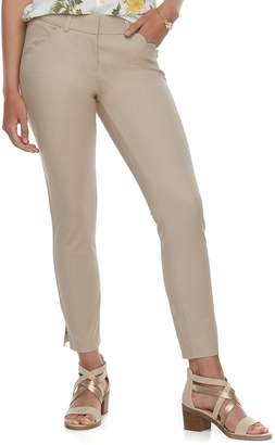 Candies Juniors' Candie's Scalloped-Pocket Ankle Pants