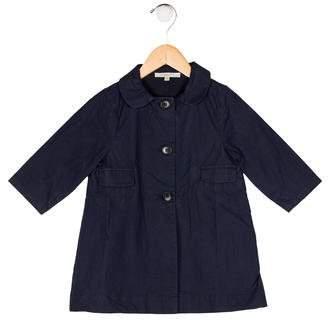 Caramel Baby & Child Girls' Peter Pan Collared Jacket