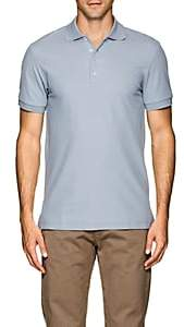 Barneys New York Men's Pima Cotton Piqué Polo Shirt - Lt. Blue