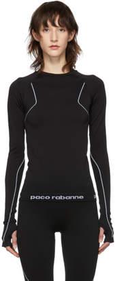 Paco Rabanne Black Bodyline Pullover