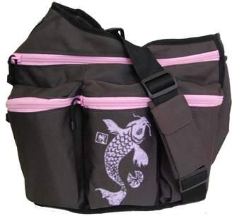 Diaper Dude Koi Diaper Diva Bag (Brown/ Pink)