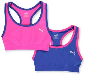 "Puma Little Girls' ""Full Court"" 2-Pack Sports Bras"